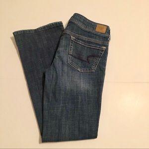 America Eagle Original Bootcut Jeans Stretch 8